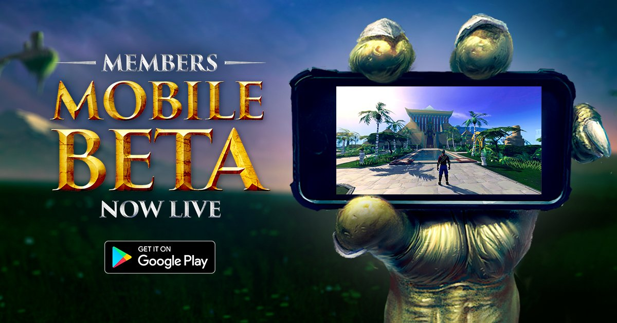 RuneScape Mobile Members Beta!